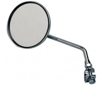 Raleigh Cycle Mirror round chrome moped style